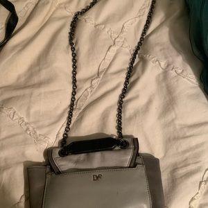 Dvf Diane von Furstenberg crossbody gray bag!